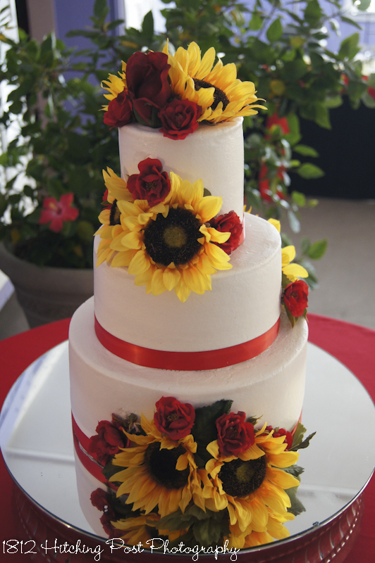 wedding cakes with sunflowers and roses 140 gorgeous wedding cakes 26125